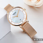 BBC Switzerland Top Luxury Brand Nesun Women's Watches Japan