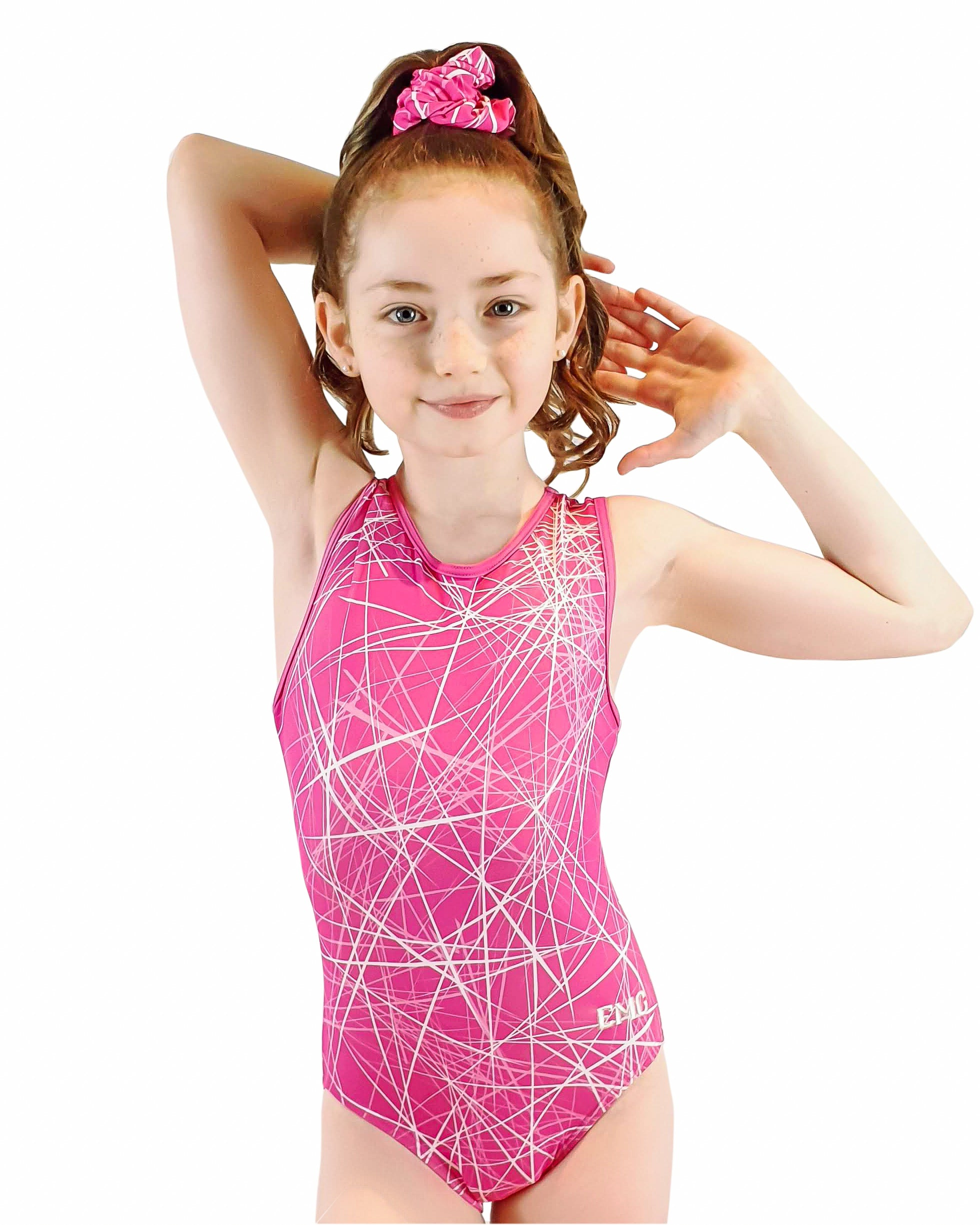 FRACTURED PINK Girls Gymnastics Leotard | Equip My Gym A