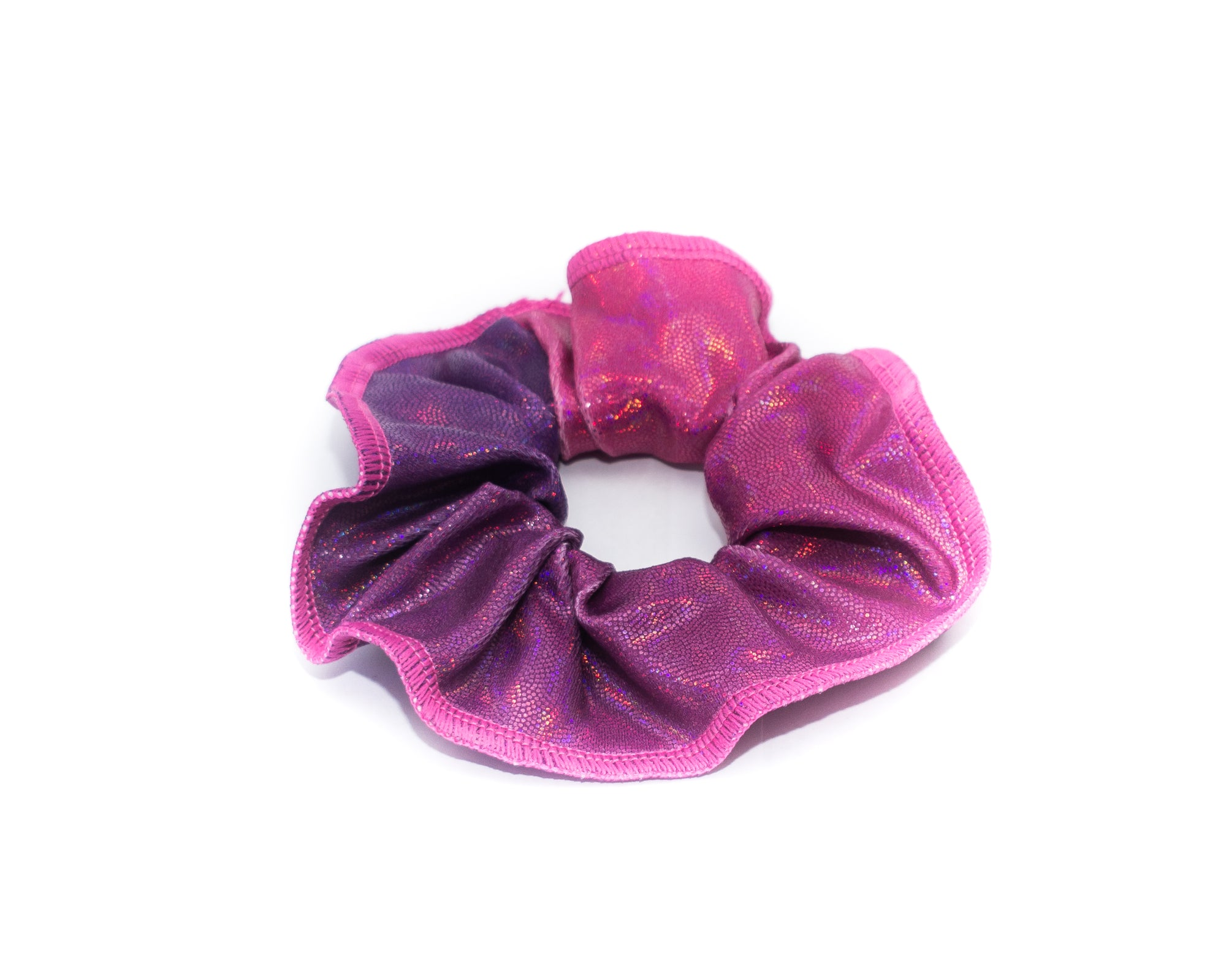 Berry Purple Kids Gymnastics Hair Scrunchie | Equip My Gym