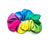 RAINBOW Girls Gymnastics Hair Scrunchie | Equip My Gym