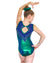 REIGN KELLY GREEN Kids Gymnastics Leotard | Equip My Gym B