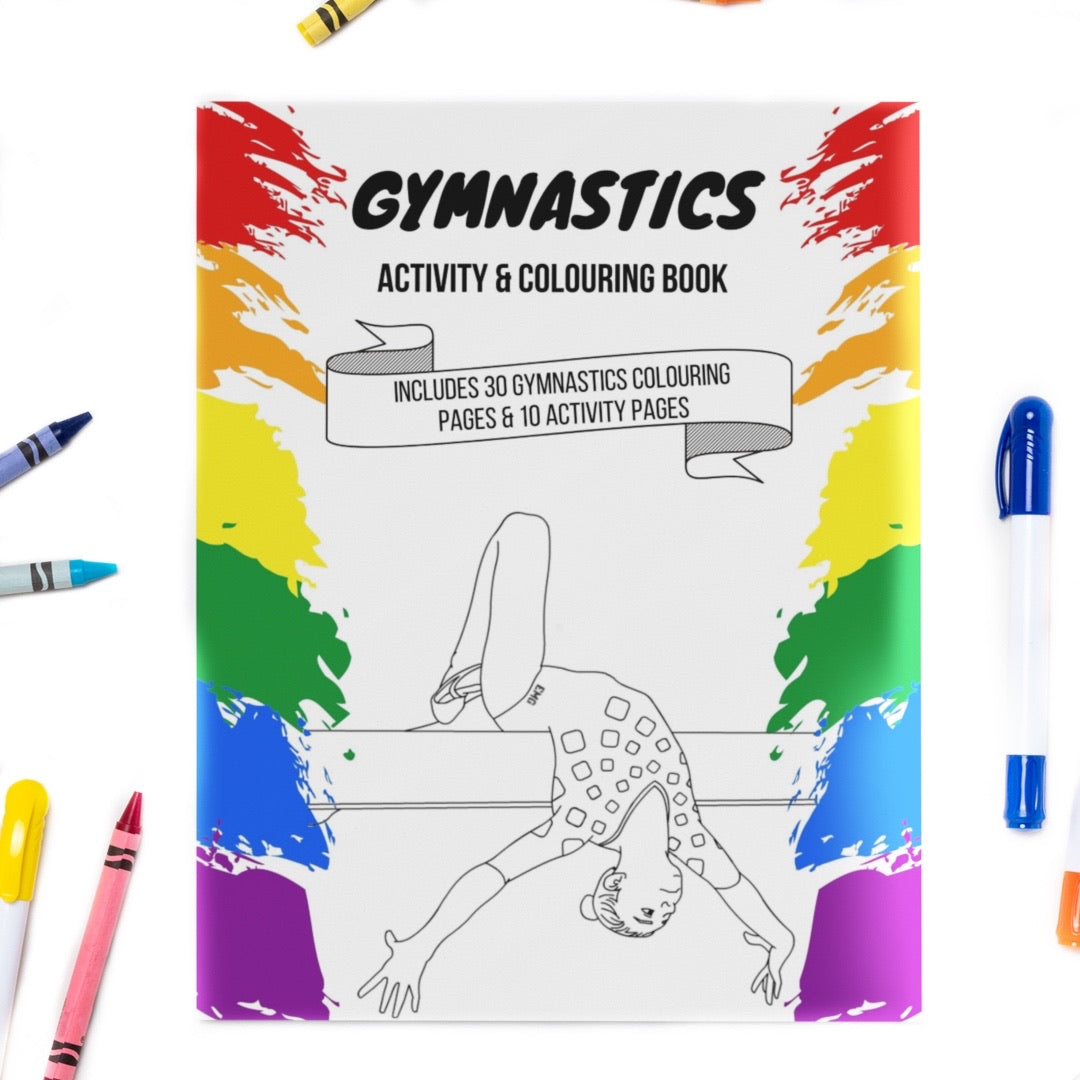 Gymnastics Activity & Colouring Book