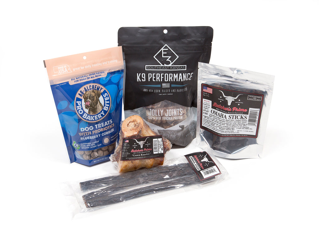 The Louie Dog Treat Bundle