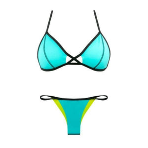 BIKINI TRYANGLE Blue