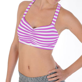 The Remarkable Bra™- BeautyBerry/White Stripe