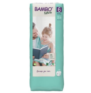 Bambo Couches 6 - XL  (16 - 30kg) 20pcs