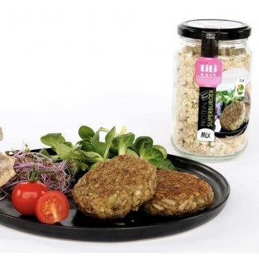 Protein SuperBurger by Lili Bulk (6,50€/pot + consigne 1€)