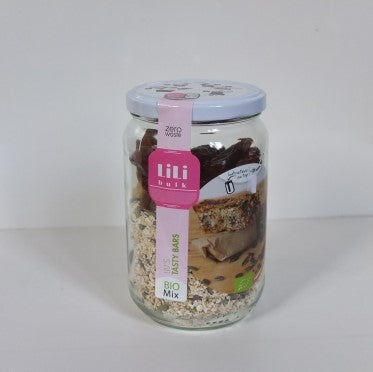 Lili's Tasty bars bio by Lili Bulk (9€/pot + consigne 1€)