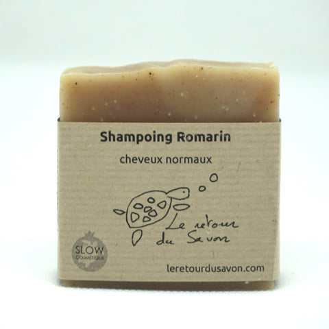 Shampoing Romarin - Cheveux normaux (7,20€/pce)