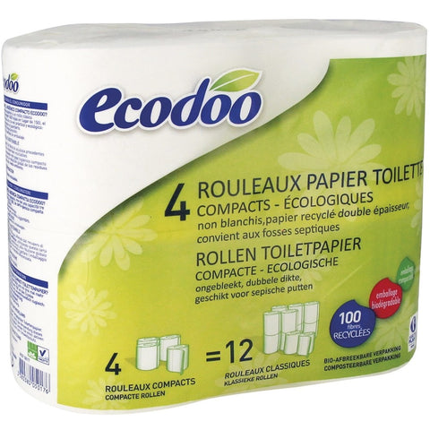 Papier WC Ecodoo (4 rouleaux - 4,29€)