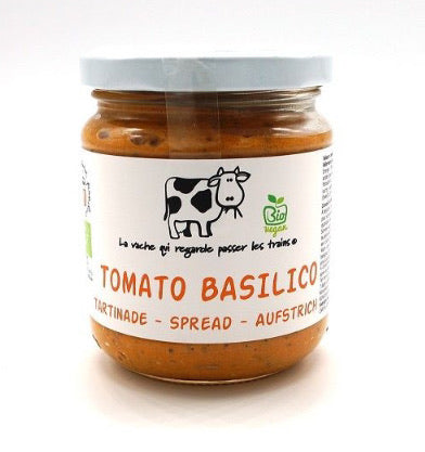 Tartinade tomate-basilic 200ml (2,69€/pot)