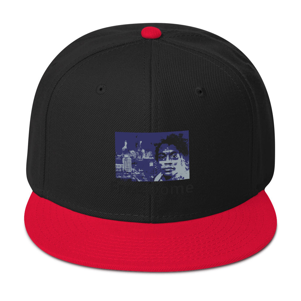 Free Dome Fitted Snapback