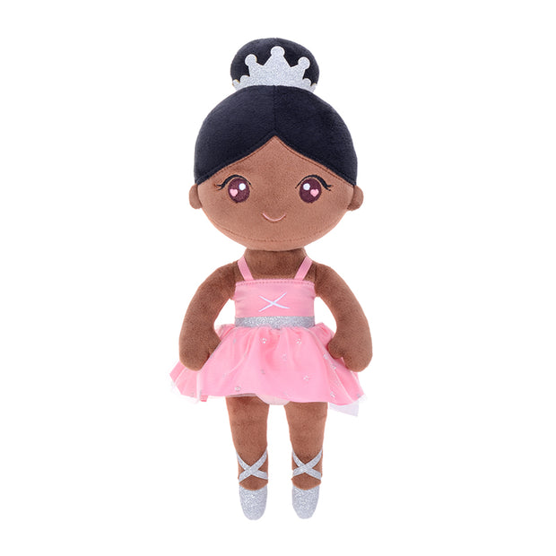 Personalized Gloveleya Ballet Girl Baby Doll Girl Gifts Plush Doll Brown Soft Doll 13 Inches