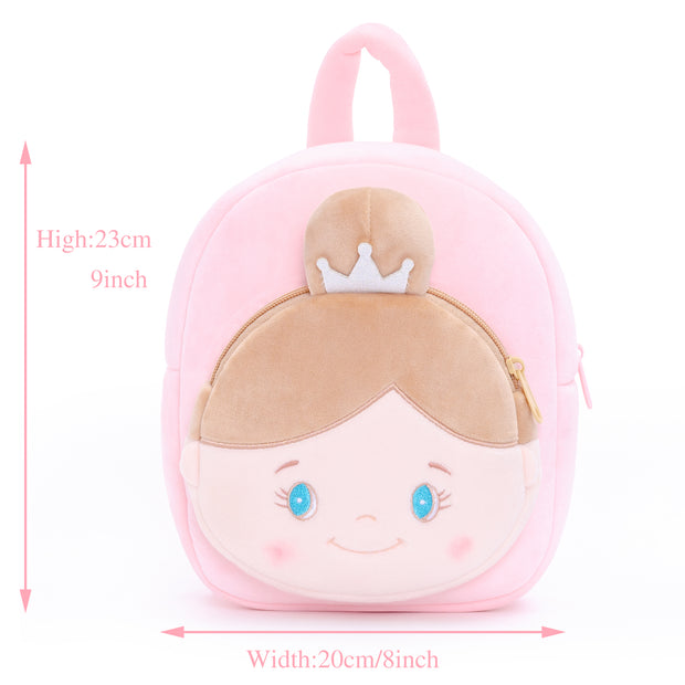 Personalised Gloveleya Angel Girl Backpack Bag 25CM - Pink