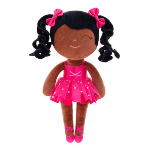 Personalized Gloveleya new design curly red ballet girl 35cm