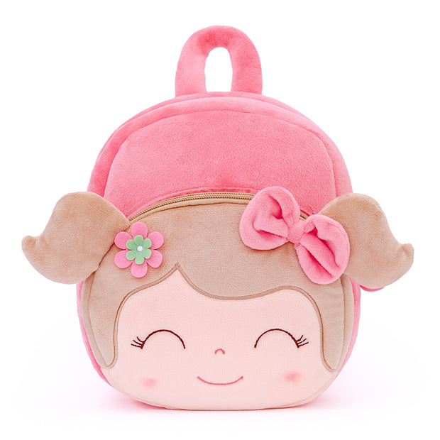Personalized Gloveleya Spring Girl Pink Backpack Bag 25CM