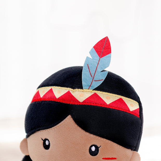 Personalized Gloveleya Tribal Girl 33CM
