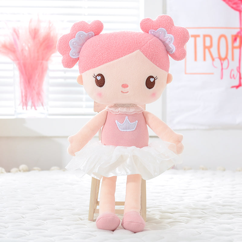 Personalized Gloveleya Candy Princess - Pink Doll with Backpack Bag