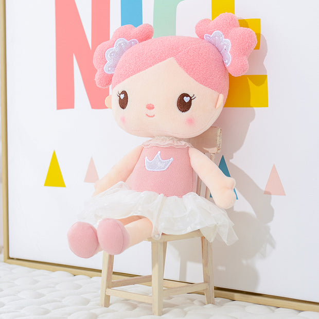Personalized Gloveleya Candy Princess - Pink Doll with Backpack