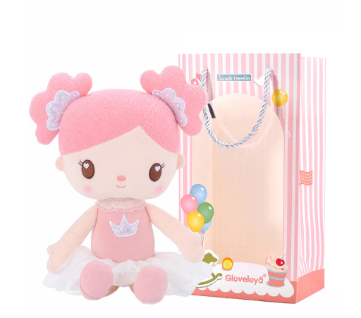 Personalized Gloveleya Candy Princess Doll (Pink and 2 Colors)