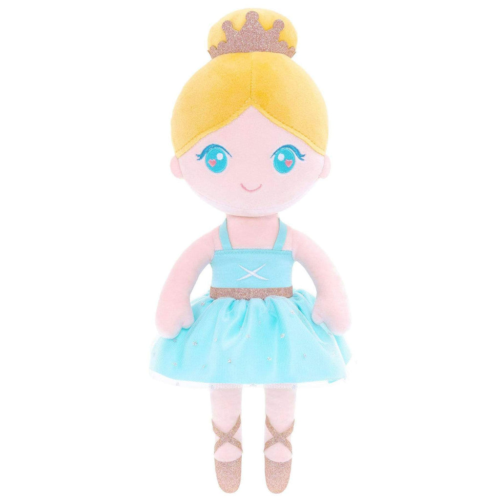 Personalized Gloveleya Ballet Girl Doll -Blue 33cm