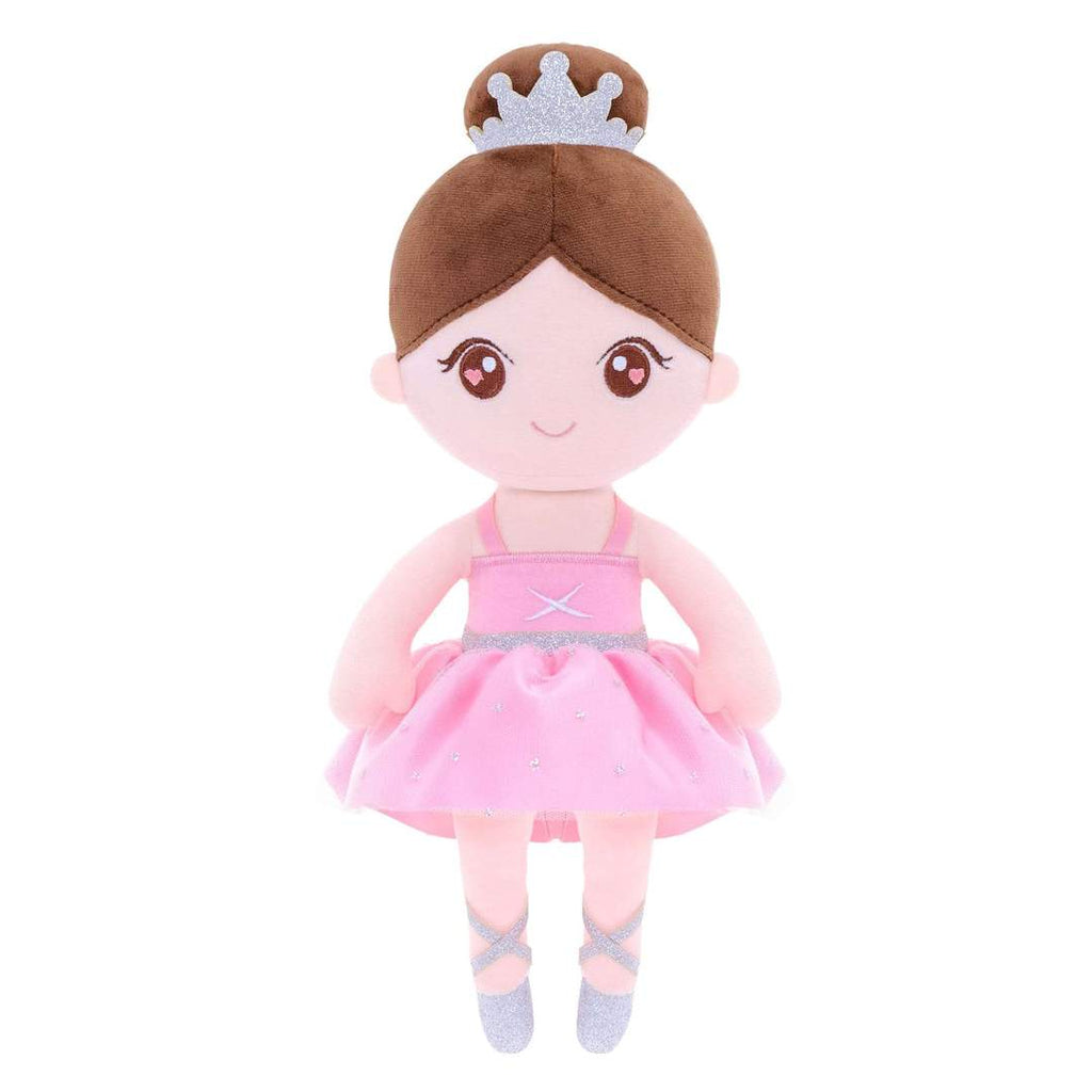 Personalized Gloveleya Ballet Girl Doll -Pink 33cm