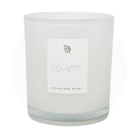 UniQorn Signature Candle