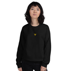 BuzzKill 'DRIP' Embroidered Sweatshirt - Black / Yellow