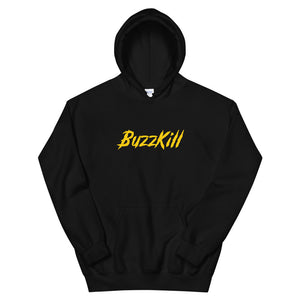 BuzzKill 'TRASH' Hoodie - Black / Yellow