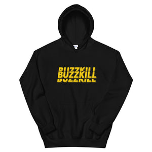 BuzzKill 'TRIPLE' Hoodie - Black / Yellow