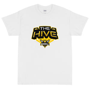 BuzzKill 'HIVE ZOOM' Tee - White / Yellow