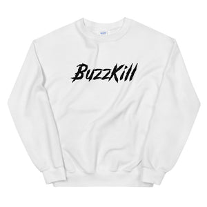 BuzzKill 'TRASH' Sweatshirt - White / Black
