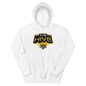 BuzzKill 'HIVE ZOOM' Hoodie - White / Yellow