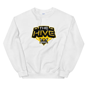 BuzzKill 'HIVE ZOOM' Sweatshirt - White / Yellow