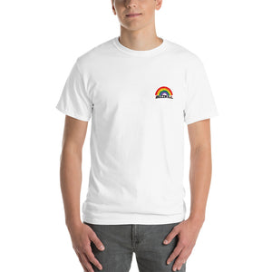 "PRIDE - ""RAINBOW DROPS"" T-shirt - White / Multi"