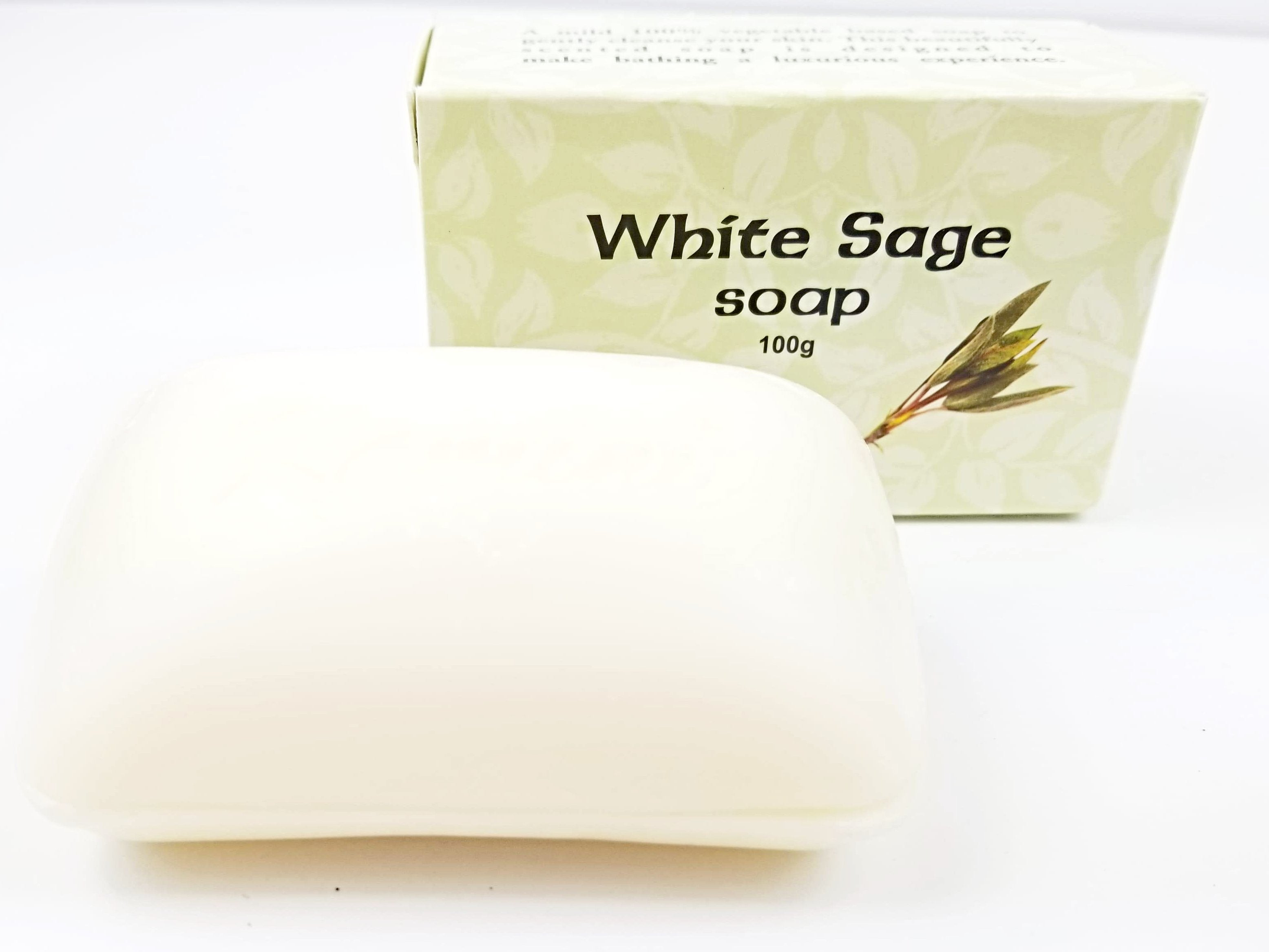 White Sage Soap Kit