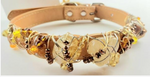 Citrine Healing Dog Collar
