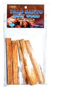 5 pack Palo Santo smudge sticks & Oil