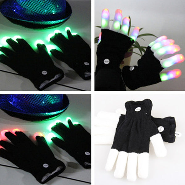 LED Flashing Magic Glove - Glows In The Dark