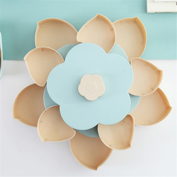 Rotating Snack Box flower