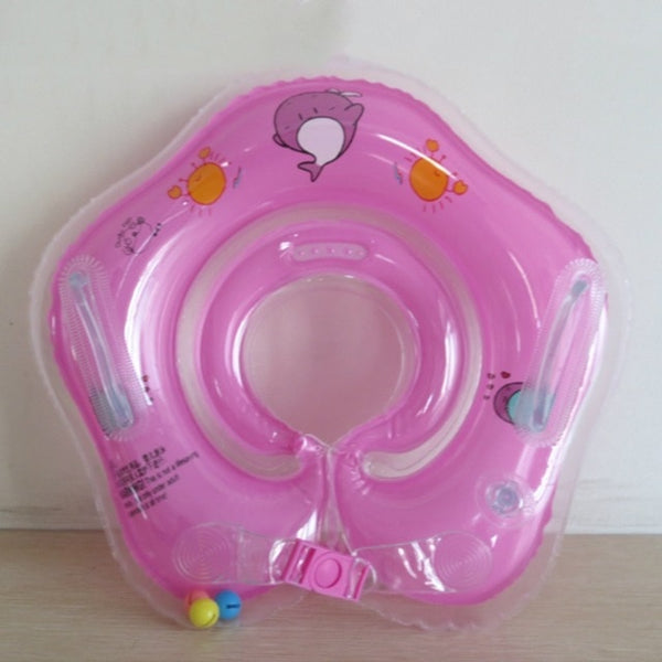 Baby Swimming Neck Ring - For Pool or Tub