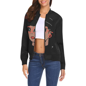 LOLLI GANG Spring Jacket_Rita Collection (black)