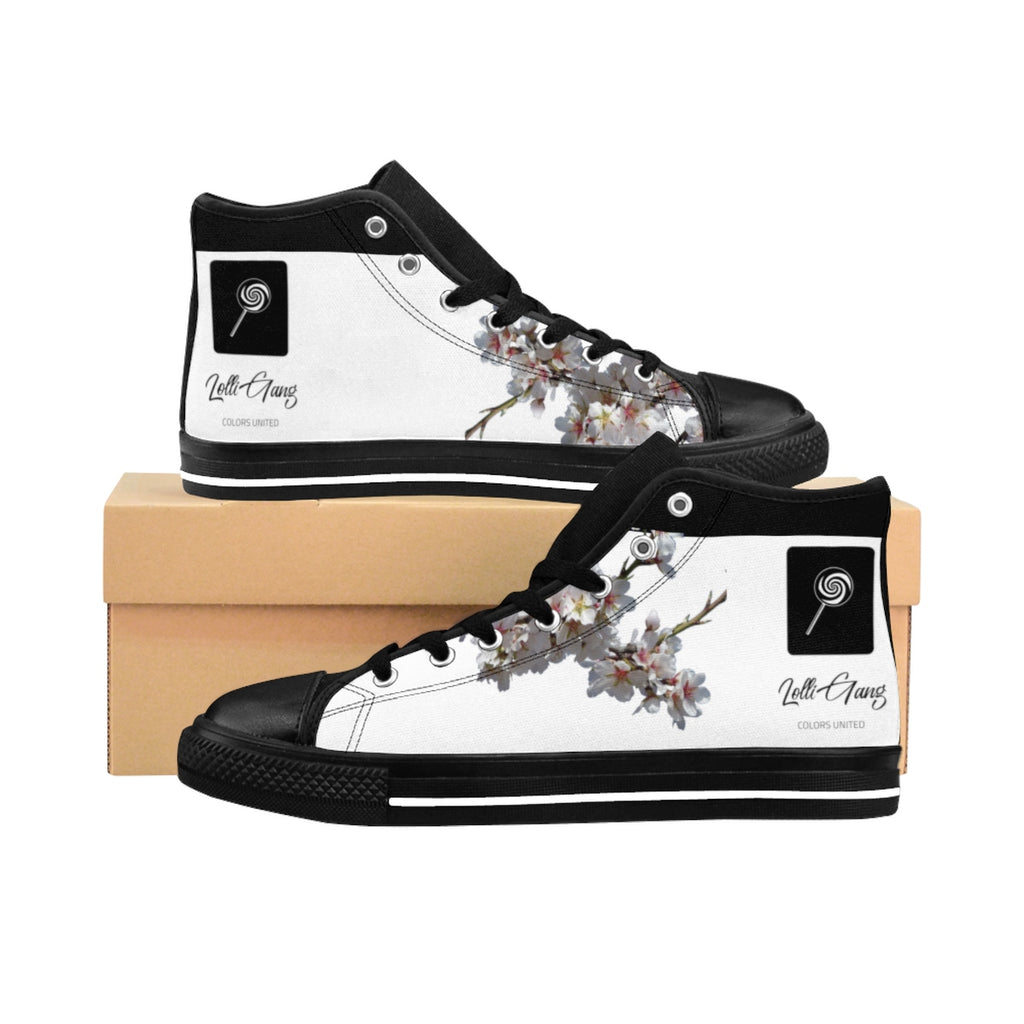 LOLLI GANG High-top Canvas Sneakers