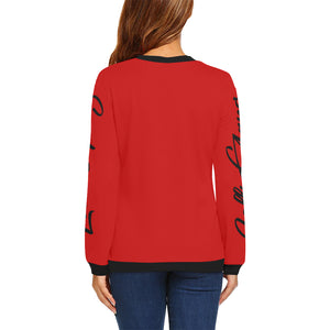 LOLLI GANG Tori Collection fall sweater_red