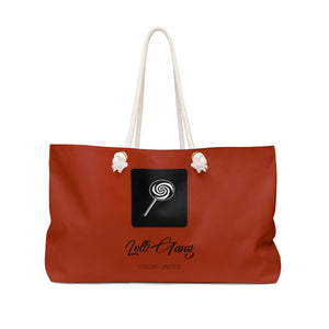 LOLLI GANG (Girl Gang) Tote Bag (brick red)