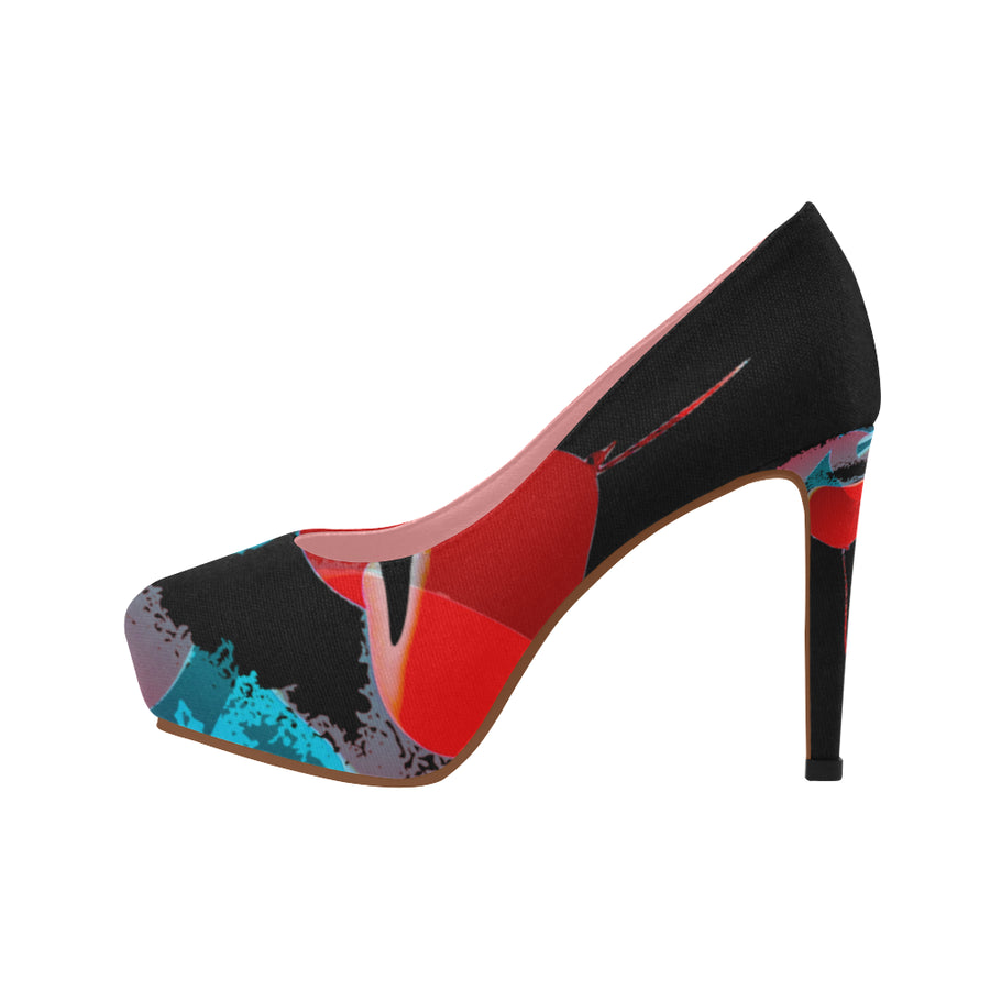 LOLLI GANG High Heel Pumps_Heart Collection (black)