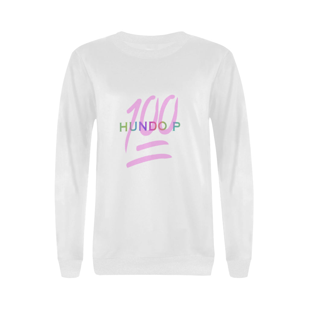 LOLLI GANG HUNDO P Fall sweater_white/PINK
