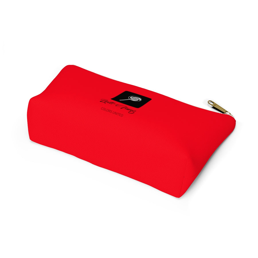LOLLI GANG Logo Accessory Pouch (red)