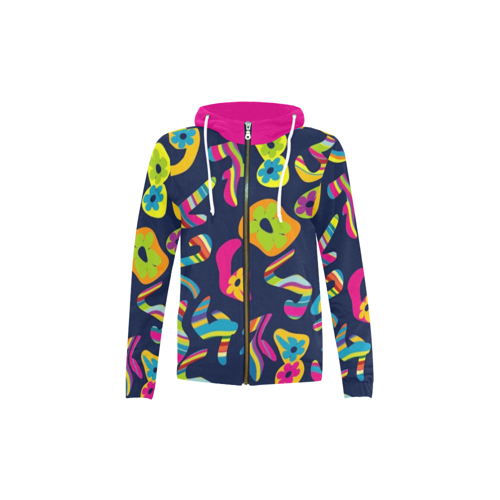 LOLLI GANG Kids zip-up hoodie