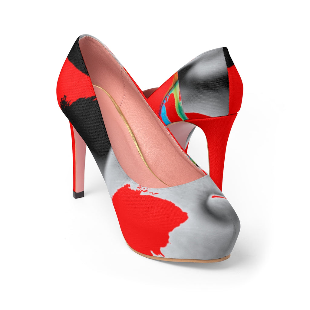 LOLLI GANG High Heel Pumps_Abstract Collection (red)